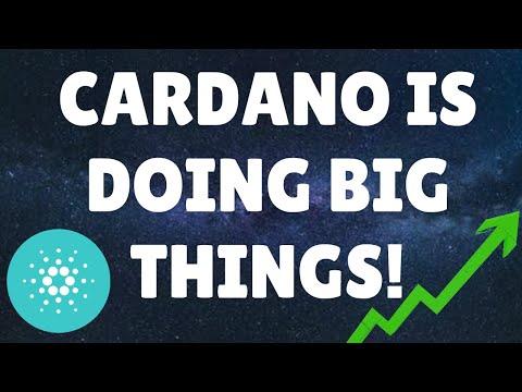 CARDANO KEEPS DELIVERING!!   CARDANO NEWS   CRYPTO NEWS   BITCOIN NEWS   #BITCOIN #CARDANO #ETH