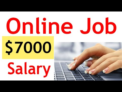 ONLINE JOBS $7000 SALARY  ( MAKE MONEY ONLINE FROM HOME