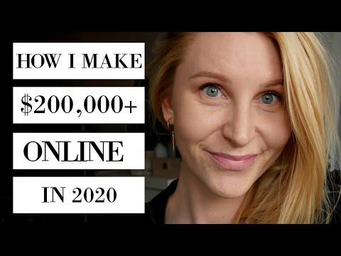 7 WAYS TO MAKE MONEY ONLINE 2020 | Passive income | Online Business Ideas | Caroline Ravn