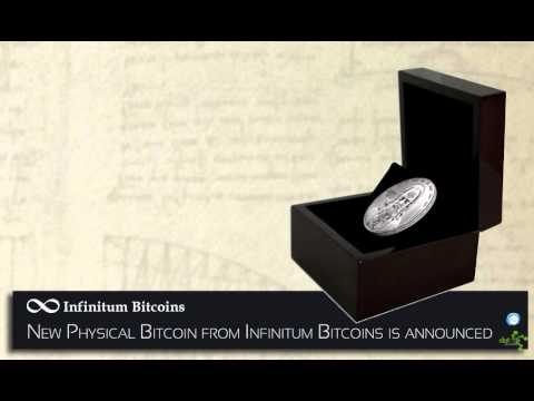 DatSyn News – New Physical Bitcoin from Infinitum Bitcoins is announced
