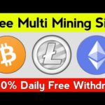 New Free Bitcoin Mining Site 2020 | Earn Daily 0.002 BTC | Best Free Bitcoin Earning Site 2020