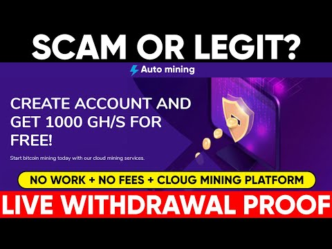 Automining.cc Scam? | How to Earn Bitcoins | Studio Xpo | Live withdrwal Proof | Studio Xpo