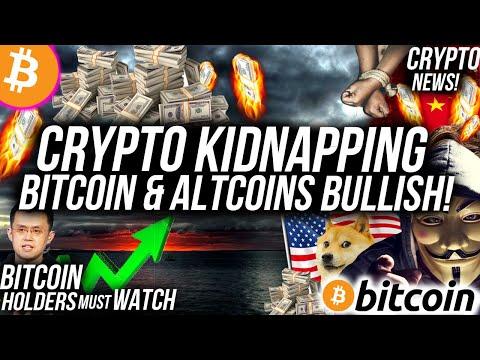 BREAKING NEWS! CRYPTO KIDNAPPING! Bitcoin & Altcoins BULLISH NEXT WEEK! Crypto News!