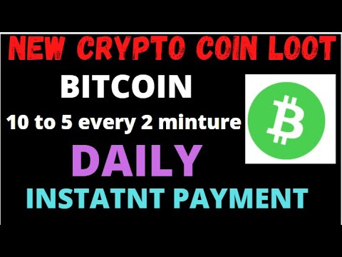 New  Bitcoin Faucet Earn Free Bitcoin 10 to 5 Satoshi every 2 minute