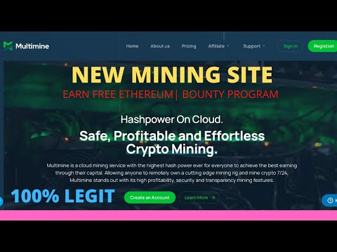 Multimine Review|| How to invest|| Latest Bitcoin mining site||Bounty program Detail| Ethereum