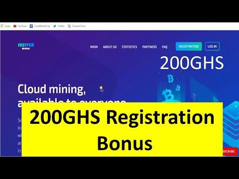 New Free Bitcoin Cloud Mining Website 2020 | Seelver Review | Bitcoin Mining 2020