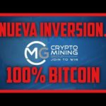 Nueva Inversion-CRYPTO MINING GROUP- 100% En Bitcoin.
