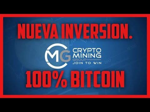 Nueva Inversion-CRYPTO MINING GROUP- 100% En Bitcoin.