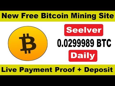 Seelver.cc Payment Proof || New Bitcoin Mining Website 2020 || Free Cloud Mining Website + Deposit