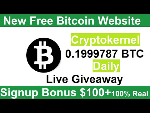 New Free Bitcoin Mining Site 2020-Free Cloud Mining Site 2020-Cryptokernel Review +Signup Bonus $100