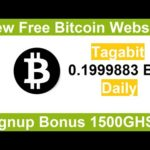 New Free Bitcoin Mining Site 2020-Free Cloud Mining Site 2020-Tagabit Review + Signup Bonus 1500GHS
