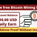 Free Bitcoin Mining sites without investment 2020 ||  olion Withdraw proof