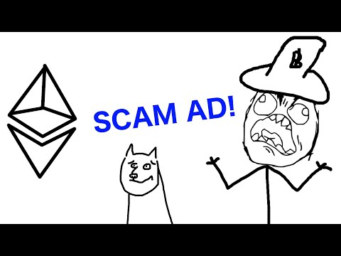 Professor Hodlr sees an Ethereum SCAM ad from Crypto Sl*t!! (18+ Funny Animation)