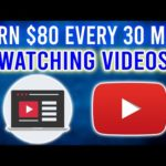 Earn $80 Every 10 Minutes WATCHING VIDEOS!! [Make Money Online 2020]
