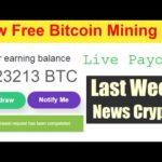 Free new bitcoin mining websites 2020 | live payout | last week crypto