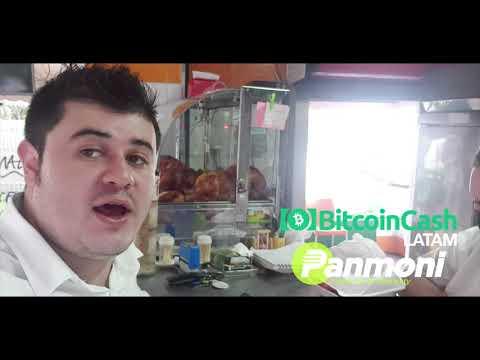 Sebastian Montes Compra con Bitcoin Cash (BCH) en Pollos Don Guillo Medellín