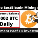 Best Bitcoin Mining Site | Without Investment | Payment Proof!