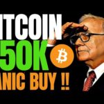 WARREN BUFFET WILL PANIC-BUY BITCOIN AT $50K SAYS MAX KEISER!! BTC IS TARGETING $288K STOCK-TO-FLOW!