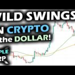 VOLATILE START! The Crypto Market FIRES Back to Support for Bitcoin and the Ripple XRP Price Chart!