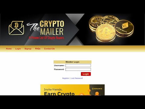 THE BITCOIN CRYPTO MAILER REVIEW SCAM OR NOT SEE THIS FIRST