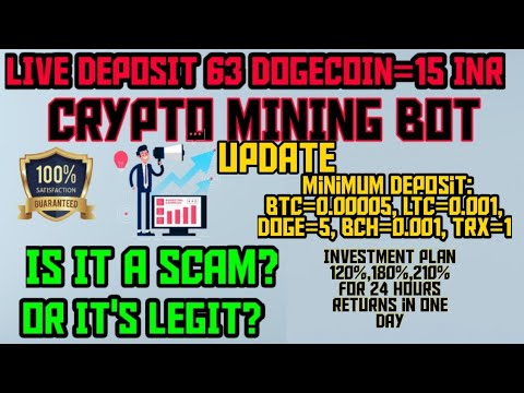 Update: Scam or Real Crypto Mining Bot 2020 telegram No hack