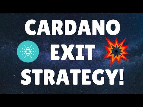 MY CARDANO EXIT STRATEGY   CARDANO NEWS   CRYPTO NEWS   BITCOIN NEWS   #CARDANO #BITCOIN #CRYPTO