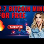 Free  Bitcoin Mining Site & Android/Iphone | No Fee + No Investment | withdraw btc Payment Proof