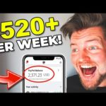 How To Make $520 PER WEEK And Make Money Online Fast In 2020