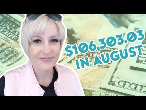 How Much Money I Made Online in August - Make Money Online 2020 - Entrepreneur Life