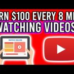 Earn $100 Every 8 Minutes WATCHING VIDEOS!! [Make Money Online 2020]