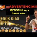 ¡¡¡ALERTA!!!| Bitcoin va a hacer eso... | Cripto Avances | HOY | | Hoy | Ronny Roehrig