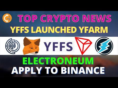 Top Crypto News |  WazirX Staking | Electroneum Apply To Binance | Effect.AI, Tron, MetaMask