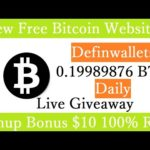 New Free Bitcoin Mining Site 2020-Free Cloud Mining Site 2020-Definwallets Signup Bonus $10
