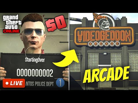 Starting from Zero in GTA 5 Online | BROKE TO RICH S2E3 (Make Money Fast After Account Reset)