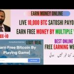 Earn Money Online | How To Create Account In Btcbux | Live Payment Proof | Hindi/Urdu |