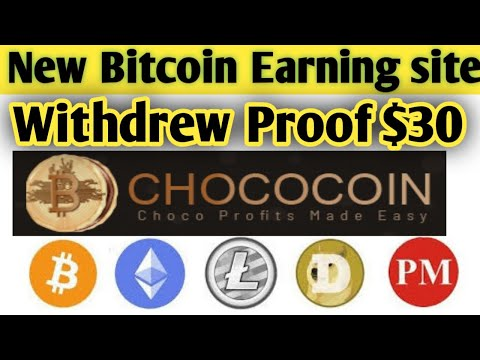 Chococoin Site Lonch ! $30 Live Deposit Proof ! Best Bitcoin Earning Site 2020 ! + Giveaway