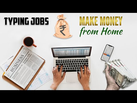 Typing Job Work From Home   Passive Income Source   Work & Earn Bitcoin   Search Online Jobs