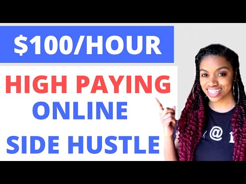 Make Over $100 In One Hour I Make Money Online Now! Work From Home 2020