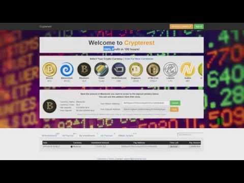 Crypterest   100% Profit криптовалют за 100 часов! Заработок криптовалют Bitcoin\Dogecoin\Litecoin