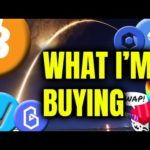WHAT I'M BUYING TODAY // Bitcoin and Crypto News Update