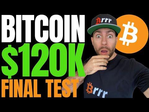 BITCOIN FACING ONE LAST TEST AHEAD $120,000 RISE!! NEW METRIC REVEALS 'INTENSE' BTC BUY PRESSURE!!