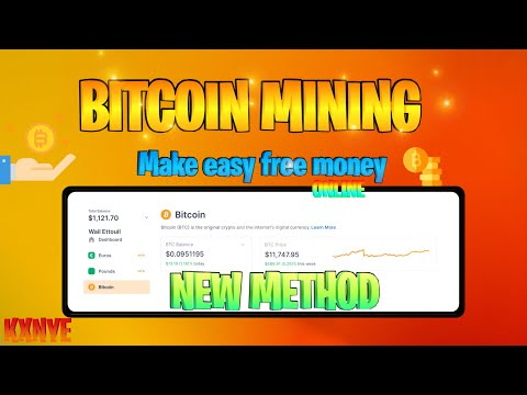 Crypto Mining in 5min|easiest way to earn BTC With this software + Optimized App|Fast legit bitcoin