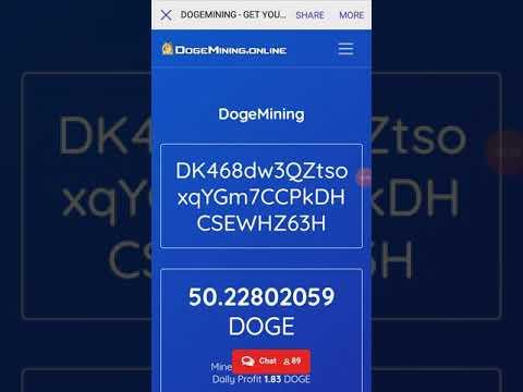 Dogemining.online bukti livewithdrawal, scam atau legit.SIMAK YA #Free bitcoin #free btc 2020