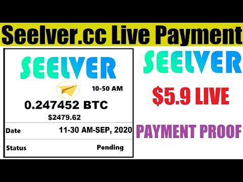 Seelver.cc Payment Proof || New Bitcoin Mining Website 2020 || Free Bitcoin Mining Website