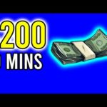 Earn $200 in 10 Mins!! (Easy Way to Make Money Online)