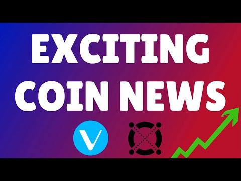 COIN NEWS! | VECHAIN NEWS | ELROND NEWS | CRYPTO NEWS | BITCOIN NEWS | #VECHAIN, #ELROND, #BTC