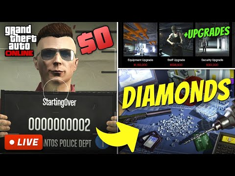 Starting from $0 in GTA 5 Online | BROKE TO RICH S2E5 (Make Money Fast After Account Reset)