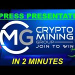 🍄 CRYPTO MINING GROUP 3.0 🤑🚀 [EXPRESS PRESENTATION IN 2 MINUTES]🔥💰 PROFIT EN BITCOIN