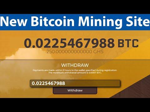 New Free Bitcoin Mining Site - Free 250 Gh/s Sign Up Bonus - Lamerio