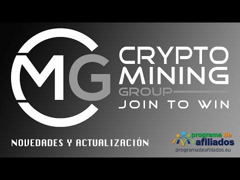 Novedades y actualización de la plataforma Crypto Mining Group - CMG
